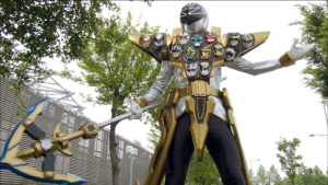 Super Megaforce Silver Gold Mode