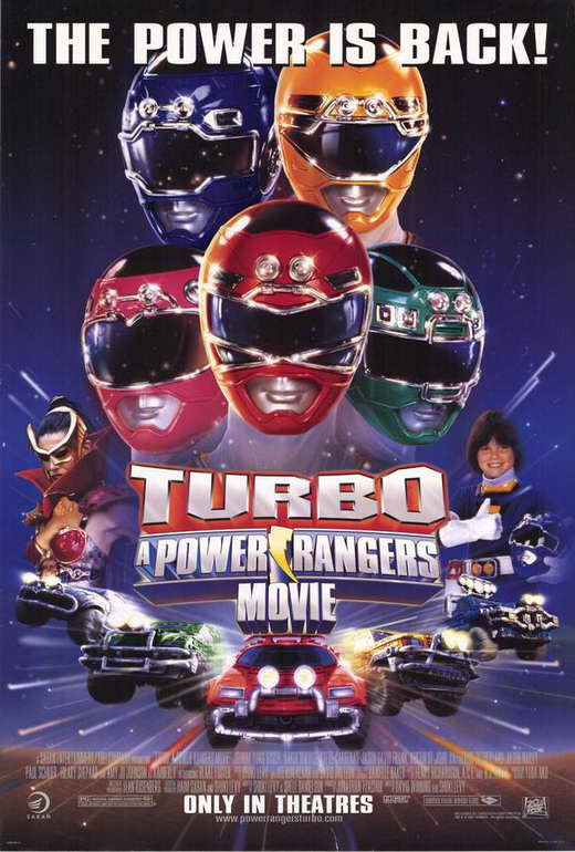 Turbo A Power Rangers Movie Poster