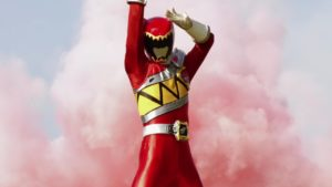 Shelby As Dino Charge Red