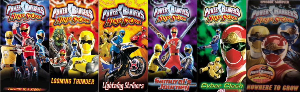 The History Of Power Rangers On VHS! - Morphin' Legacy
