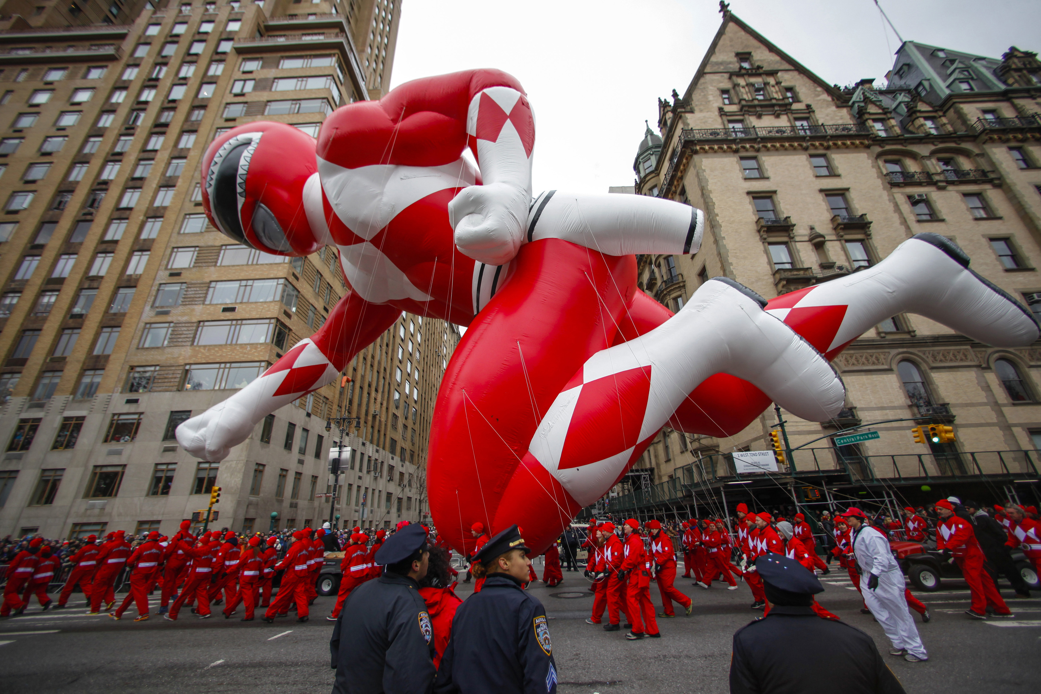 Red Ranger Balloon To Appear In Macy S 89th Annual Parade