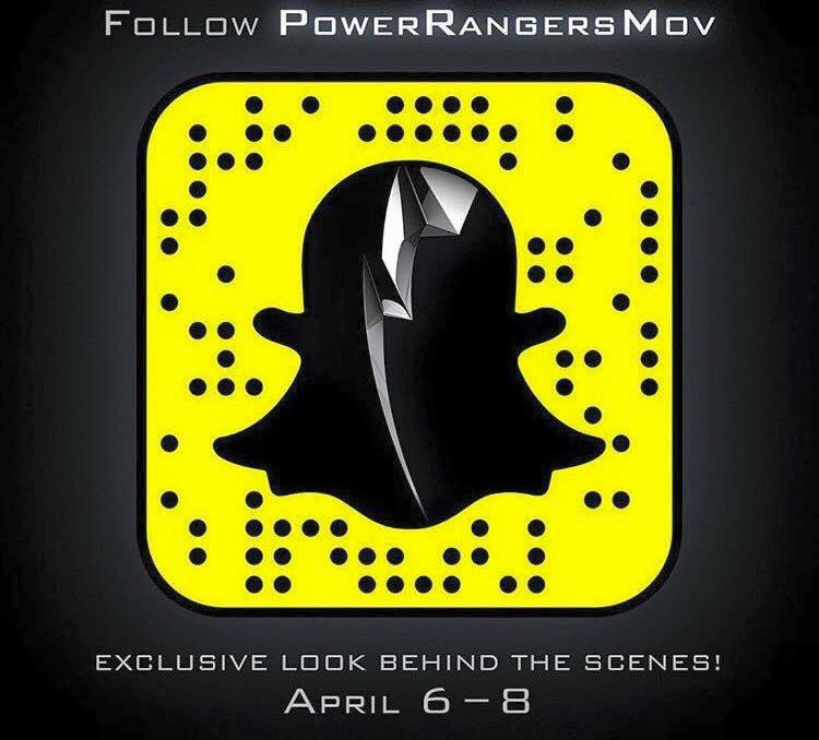 3d9443cc0 The Power Rangers Movie Snap Chat is hosting Behind the Scenes Videos and  Pictures April 6-8! So far we've seen Ludi Lin, Becky Gm RJ Cyler, ...