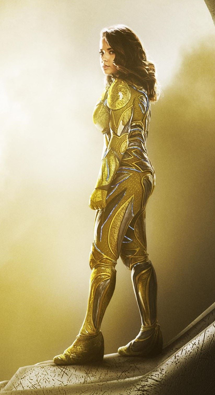 Power rangers movie character descriptions released - Becky g trini ...