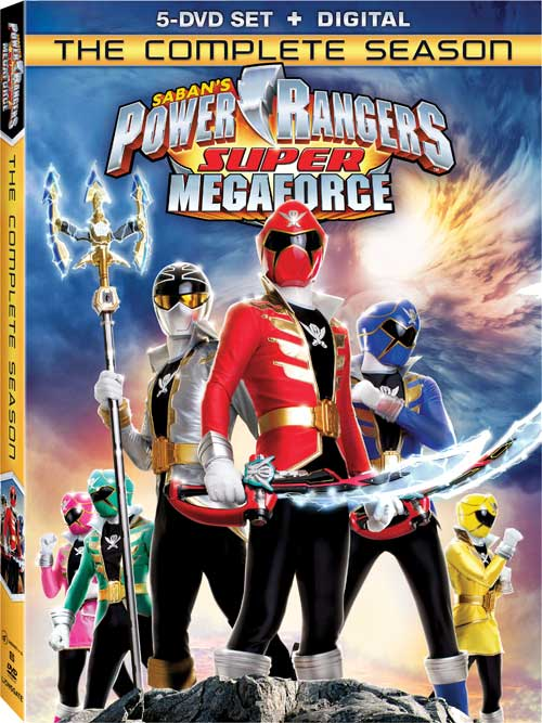 megaforce super megaforce complete series coming to dvd. Black Bedroom Furniture Sets. Home Design Ideas