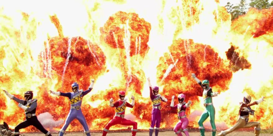 Dino Super Charge Rangers