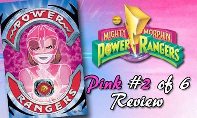 MMPR Pink Issue 2 Review