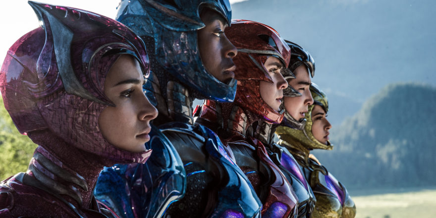 Power Rangers Movie Helmetless