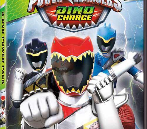 Dino Charge DVD Power Pack