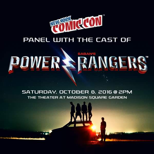 Power Rangers NYCC Teaser