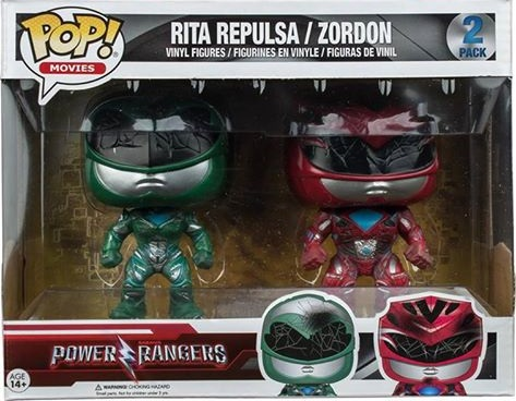 Battle Damaged Rita Repulsa Green Ranger Amp Zordon Red