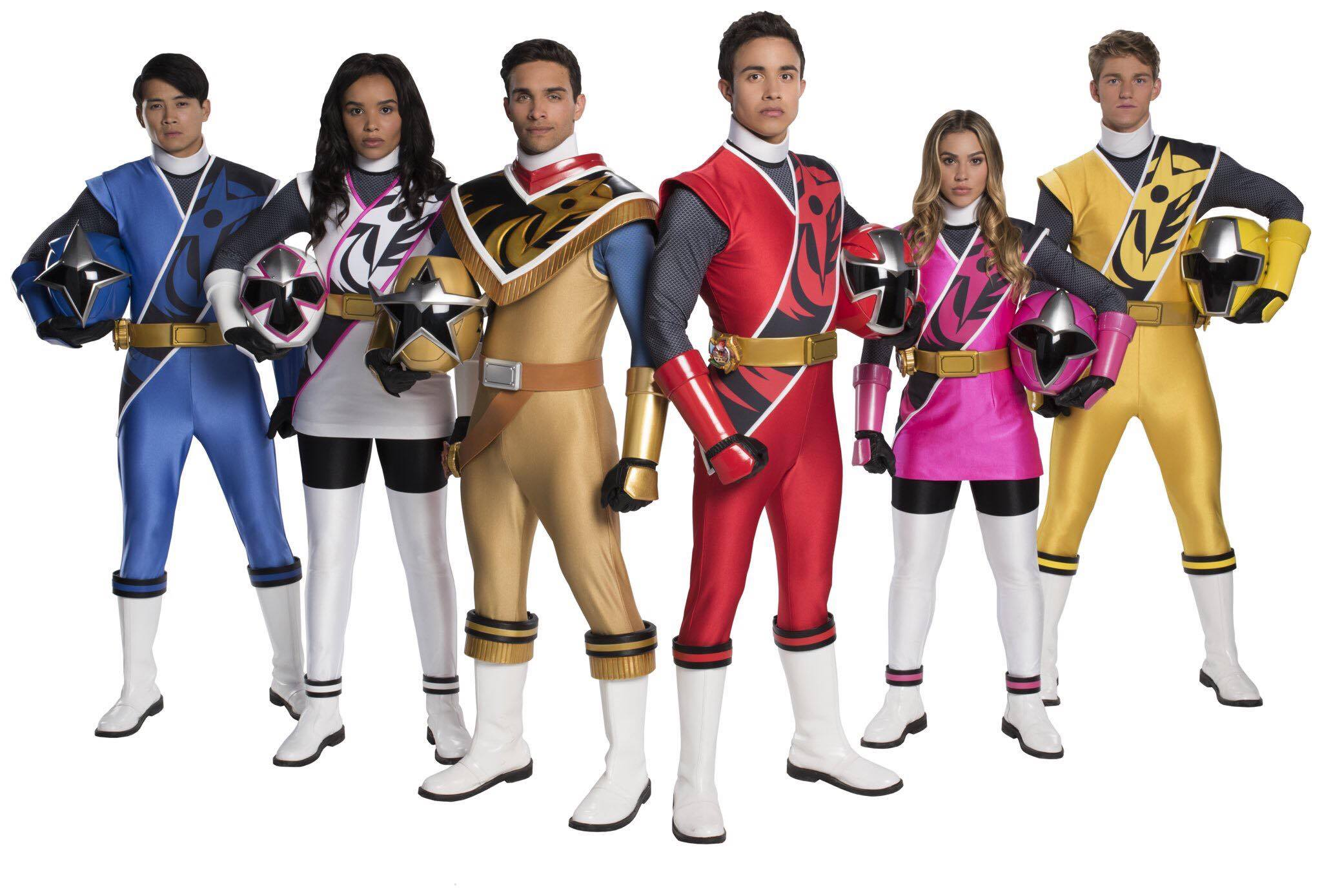 Power Rangers Ninja Steel Cast Announced As Guests For PMC 6