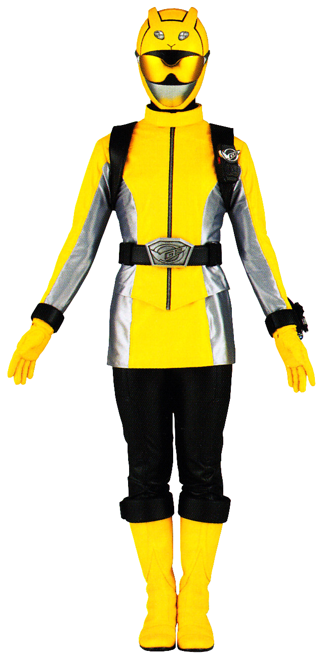 Zoey Reeves Yellow Beast Morphers Ranger Morphin Legacy