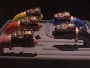 POWER RANGERS MORPHER CHRONO IN SPACE ASTRO GROWL OVERDRIVE