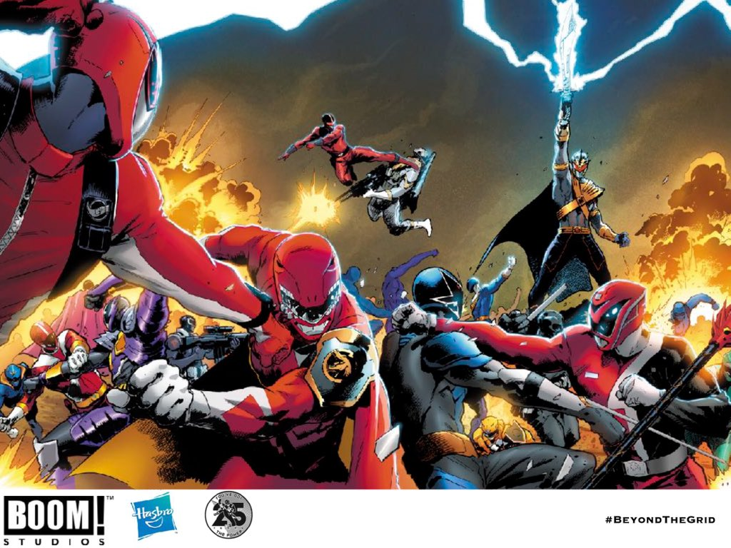 Boom Studios Reveals Identity Of The Dark Ranger Amp More