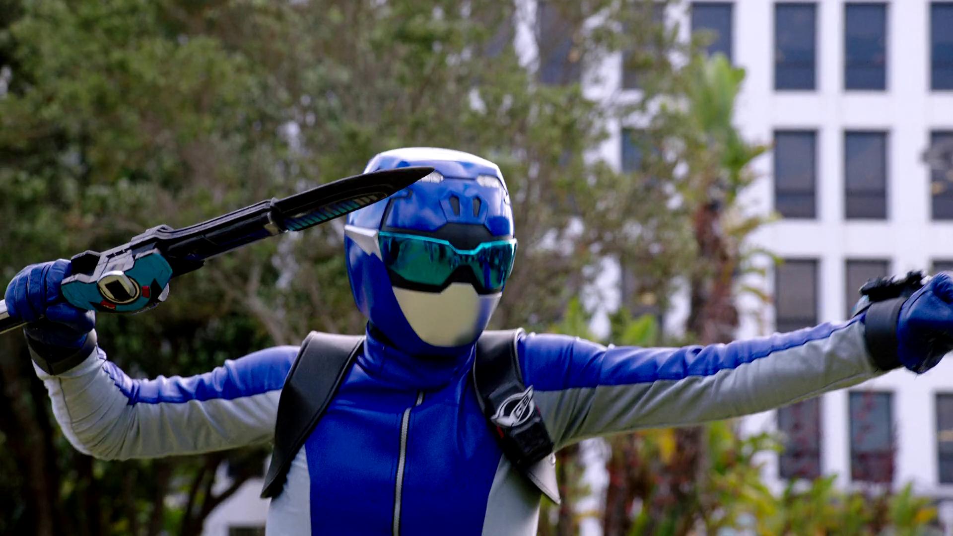 Ravi Shaw, Blue Beast Morphers Ranger - Morphin' Legacy